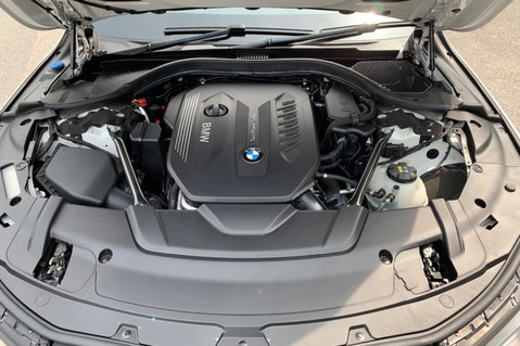 BMW 7 Series 730D XDRIVE M SPORT - SUNROOF- HARMAN KARDON- 1 OWNER - MINERAL WHITE 85