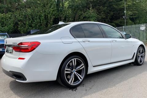 BMW 7 Series 730D XDRIVE M SPORT - SUNROOF- HARMAN KARDON- 1 OWNER - MINERAL WHITE 90
