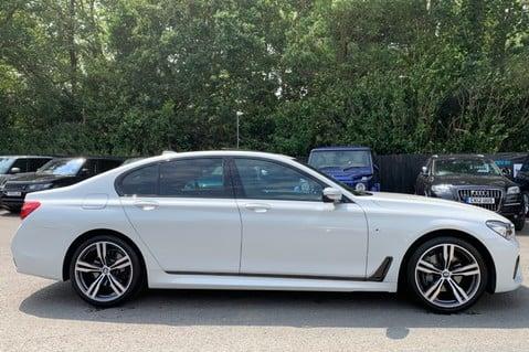 BMW 7 Series 730D XDRIVE M SPORT - SUNROOF- HARMAN KARDON- 1 OWNER - MINERAL WHITE 4