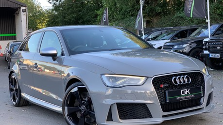 Audi RS3 RS3 SPORTBACK QUATTRO NAV - NARDO GREY - FULLY REFURBISHED ALLOYS Video