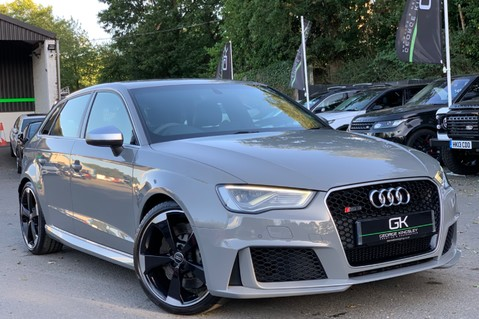 Audi RS3 RS3 SPORTBACK QUATTRO NAV - NARDO GREY - FULLY REFURBISHED ALLOYS 1