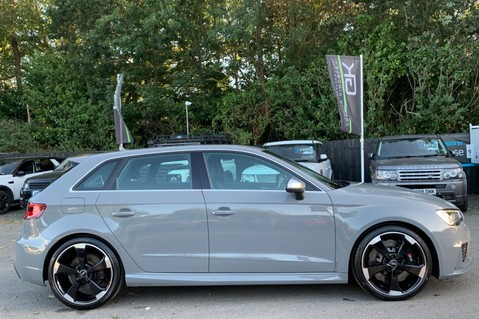 Audi RS3 RS3 SPORTBACK QUATTRO NAV - NARDO GREY - FULLY REFURBISHED ALLOYS 4