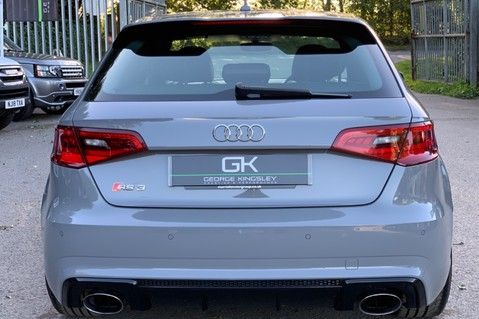 Audi RS3 RS3 SPORTBACK QUATTRO NAV - NARDO GREY - FULLY REFURBISHED ALLOYS 5