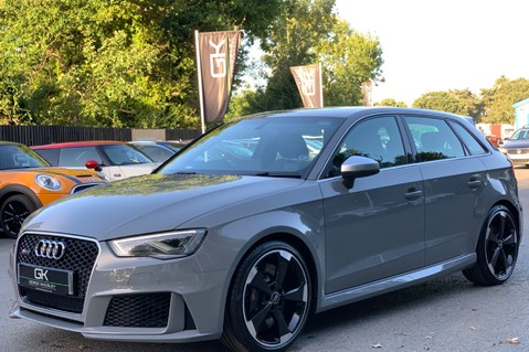 Audi RS3 RS3 SPORTBACK QUATTRO NAV - NARDO GREY - FULLY REFURBISHED ALLOYS 8