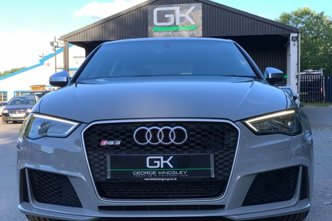 Audi RS3 RS3 SPORTBACK QUATTRO NAV - NARDO GREY - FULLY REFURBISHED ALLOYS 9