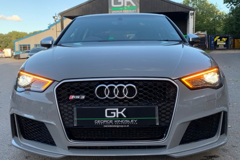 Audi RS3 RS3 SPORTBACK QUATTRO NAV - NARDO GREY - FULLY REFURBISHED ALLOYS 17