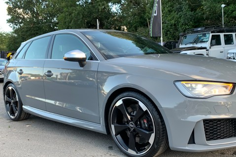 Audi RS3 RS3 SPORTBACK QUATTRO NAV - NARDO GREY - FULLY REFURBISHED ALLOYS 19