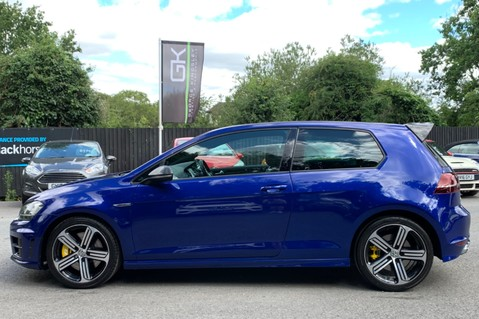 Volkswagen Golf R TSi - RARE MANUAL 3 DOOR - CARBON SPOILER - LOW MILEAGE - LAPIZ BLUE 7