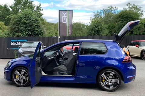 Volkswagen Golf R TSi - RARE MANUAL 3 DOOR - CARBON SPOILER - LOW MILEAGE - LAPIZ BLUE 22