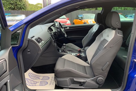 Volkswagen Golf R TSi - RARE MANUAL 3 DOOR - CARBON SPOILER - LOW MILEAGE - LAPIZ BLUE 3