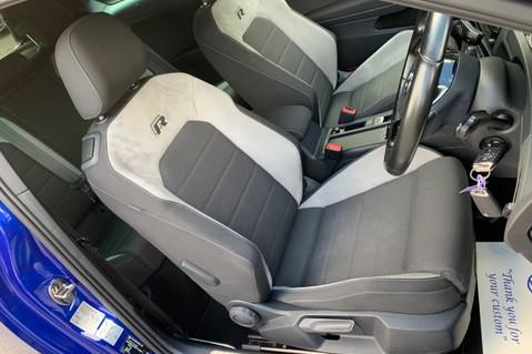 Volkswagen Golf R TSi - RARE MANUAL 3 DOOR - CARBON SPOILER - LOW MILEAGE - LAPIZ BLUE 32