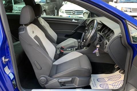 Volkswagen Golf R TSi - RARE MANUAL 3 DOOR - CARBON SPOILER - LOW MILEAGE - LAPIZ BLUE 11