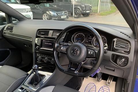 Volkswagen Golf R TSi - RARE MANUAL 3 DOOR - CARBON SPOILER - LOW MILEAGE - LAPIZ BLUE 13