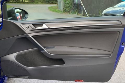 Volkswagen Golf R TSi - RARE MANUAL 3 DOOR - CARBON SPOILER - LOW MILEAGE - LAPIZ BLUE 33