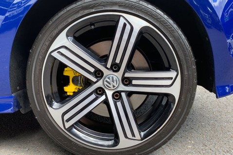 Volkswagen Golf R TSi - RARE MANUAL 3 DOOR - CARBON SPOILER - LOW MILEAGE - LAPIZ BLUE 53