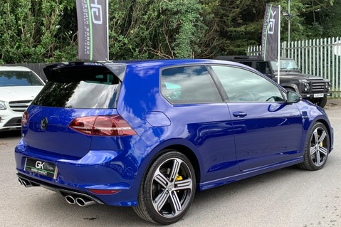 Volkswagen Golf R TSi - RARE MANUAL 3 DOOR - CARBON SPOILER - LOW MILEAGE - LAPIZ BLUE 4
