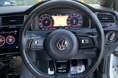 Volkswagen Golf R TSI DSG- £9K EXTRAS- CARBON NAPPA LEATHER- 1 OWNER -PRETORIAS- PAN ROOF 50