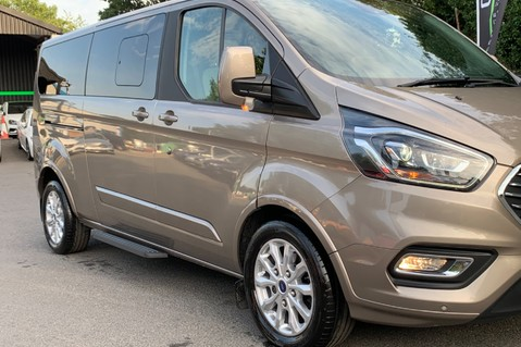Ford Tourneo CUSTOM TITANIUM X AUTO 310L L2 170PS 8 SEATER - PRICE INCLUDES VAT 20