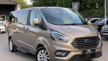 Ford Tourneo CUSTOM TITANIUM X AUTO 310L L2 170PS 8 SEATER - PRICE INCLUDES VAT Video