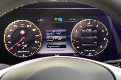 Mercedes-Benz E Class AMG E 63 S 4MATIC PREMIUM - DISTRONIC - DRIVING ASSISTANCE PACK - HUGE SPEC 50