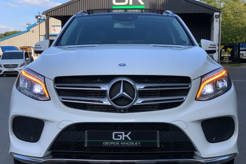 Mercedes-Benz Gle GLE 350 D 4MATIC AMG LINE PREMIUM PLUS - AIRMATIC - 21 INCH ALLOYS - VAT Q 17