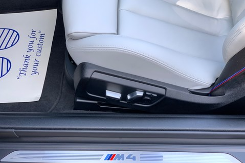 BMW M4 M4 COMPETITION -1 OWNER -HEAD UP DISP- CAMERA -HARMAN K -APPLE C/P -20 INCH 38