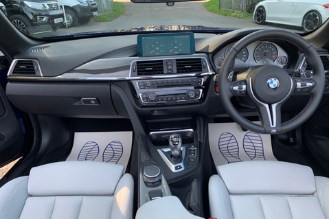 BMW M4 M4 COMPETITION -1 OWNER -HEAD UP DISP- CAMERA -HARMAN K -APPLE C/P -20 INCH 6