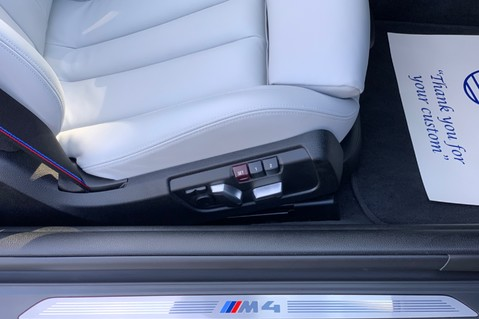 BMW M4 M4 COMPETITION -1 OWNER -HEAD UP DISP- CAMERA -HARMAN K -APPLE C/P -20 INCH 48