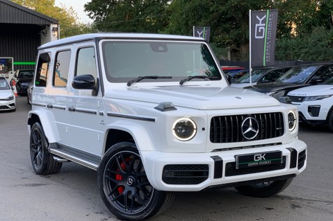 Mercedes-Benz G Class AMG G 63 4MATIC - CARBON-NIGHT PK-EXCLUSIVE RED LEATHER-FORGED ALLOYS 1
