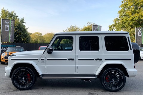 Mercedes-Benz G Class AMG G 63 4MATIC - CARBON-NIGHT PK-EXCLUSIVE RED LEATHER-FORGED ALLOYS 9