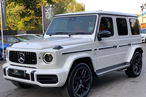Mercedes-Benz G Class AMG G 63 4MATIC - CARBON-NIGHT PK-EXCLUSIVE RED LEATHER-FORGED ALLOYS 6