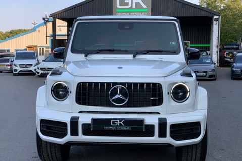 Mercedes-Benz G Class AMG G 63 4MATIC - CARBON-NIGHT PK-EXCLUSIVE RED LEATHER-FORGED ALLOYS 10