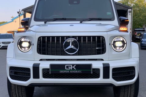 Mercedes-Benz G Class AMG G 63 4MATIC - CARBON-NIGHT PK-EXCLUSIVE RED LEATHER-FORGED ALLOYS 20