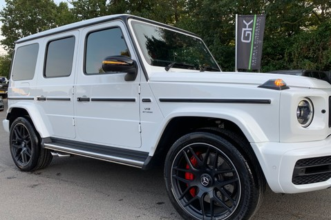 Mercedes-Benz G Class AMG G 63 4MATIC - CARBON-NIGHT PK-EXCLUSIVE RED LEATHER-FORGED ALLOYS 22