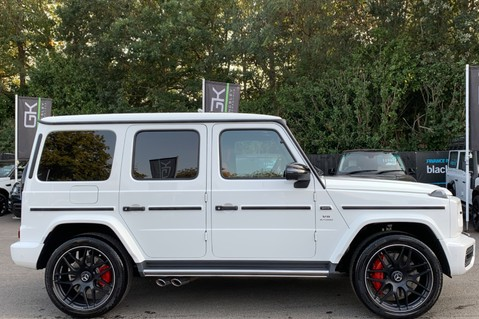 Mercedes-Benz G Class AMG G 63 4MATIC - CARBON-NIGHT PK-EXCLUSIVE RED LEATHER-FORGED ALLOYS 29