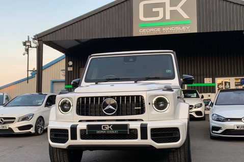 Mercedes-Benz G Class AMG G 63 4MATIC - CARBON-NIGHT PK-EXCLUSIVE RED LEATHER-FORGED ALLOYS 95