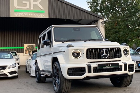 Mercedes-Benz G Class AMG G 63 4MATIC - CARBON-NIGHT PK-EXCLUSIVE RED LEATHER-FORGED ALLOYS 97
