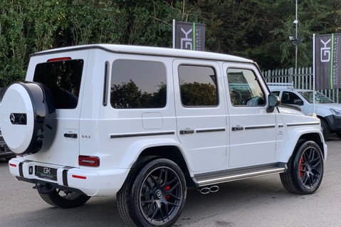 Mercedes-Benz G Class AMG G 63 4MATIC - CARBON-NIGHT PK-EXCLUSIVE RED LEATHER-FORGED ALLOYS 5