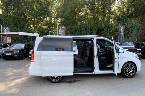 Mercedes-Benz V Class V 250 D AMG LINE LONG - PAN ROOF -LANE ASSIST -7 SEATER- 360 CAMERAS -VATQ 20