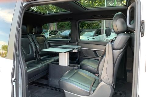 Mercedes-Benz V Class V 250 D AMG LINE LONG - PAN ROOF -LANE ASSIST -7 SEATER- 360 CAMERAS -VATQ 36