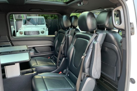 Mercedes-Benz V Class V 250 D AMG LINE LONG - PAN ROOF -LANE ASSIST -7 SEATER- 360 CAMERAS -VATQ 38