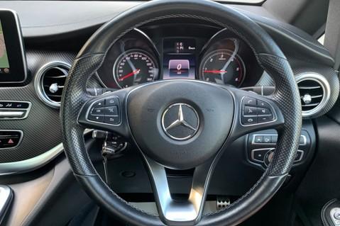 Mercedes-Benz V Class V 250 D AMG LINE LONG - PAN ROOF -LANE ASSIST -7 SEATER- 360 CAMERAS -VATQ 52