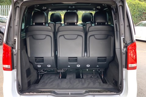Mercedes-Benz V Class V 250 D AMG LINE LONG - PAN ROOF -LANE ASSIST -7 SEATER- 360 CAMERAS -VATQ 73