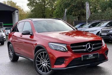 Mercedes-Benz GLC GLC 350 D 4MATIC AMG LINE PREMIUM -NIGHT PACKAGE -RARE DESIGNO HYACINTH RED