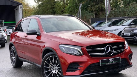Mercedes-Benz GLC GLC 350 D 4MATIC AMG LINE PREMIUM -NIGHT PACKAGE -RARE DESIGNO HYACINTH RED Video