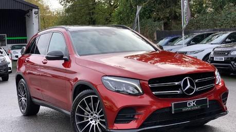 Mercedes-Benz GLC GLC 350 D 4MATIC AMG LINE PREMIUM -NIGHT PACKAGE -RARE DESIGNO HYACINTH RED Video