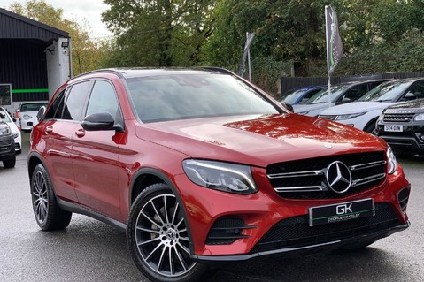 Mercedes-Benz GLC GLC 350 D 4MATIC AMG LINE PREMIUM -NIGHT PACKAGE -RARE DESIGNO HYACINTH RED 1