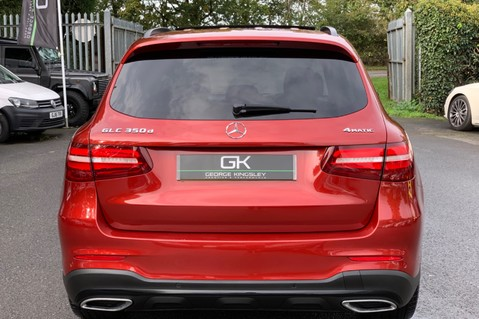 Mercedes-Benz GLC GLC 350 D 4MATIC AMG LINE PREMIUM -NIGHT PACKAGE -RARE DESIGNO HYACINTH RED 6