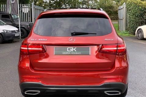 Mercedes-Benz GLC GLC 350 D 4MATIC AMG LINE PREMIUM -NIGHT PACKAGE -RARE DESIGNO HYACINTH RED 6