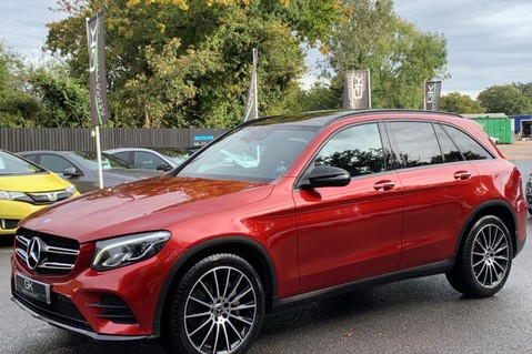 Mercedes-Benz GLC GLC 350 D 4MATIC AMG LINE PREMIUM -NIGHT PACKAGE -RARE DESIGNO HYACINTH RED 8